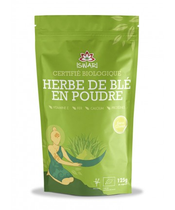 Herbe de blé en poudre - Bio