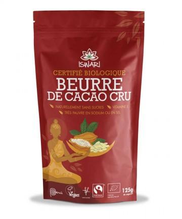 Beurre de cacao cru - Bio -...
