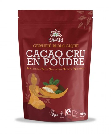 Cacao cru poudre