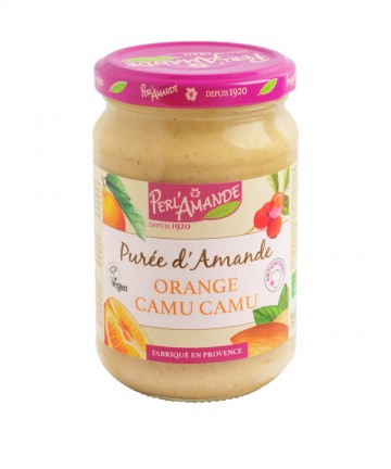 Purée d'amande Orange Camu...