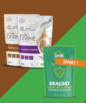 Pack Avoine Divine Noisette...