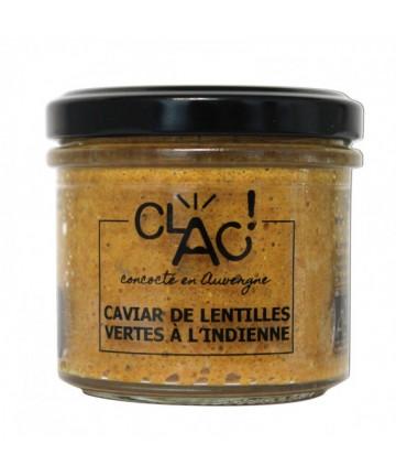 Caviar de lentilles vertes...