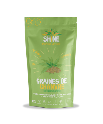 Graines de chanvre - BIO -...