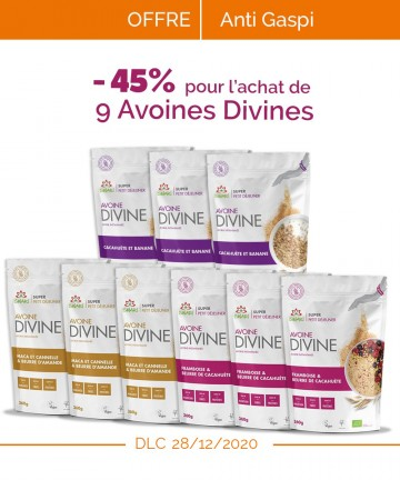 Avoines Divines 360g - ANTI...