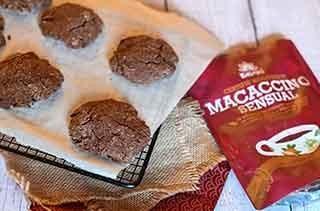 Cookies sans gluten au potimarron et Macaccino Sensual